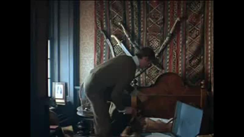 Отрывок из фильма Масленникова И Шерлок Холмс и доктор Ватсон 1 серия Знакомство 1979
