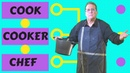 Cook Cooker and Chef Learn the Difference in a Simple English Video