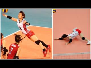 159 cm crazy volleyball libero yuko sano (hd)