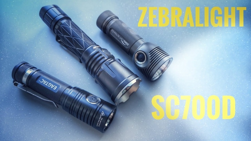 Zebralight SC700d Фонарь на светодиоде XHP 70 2