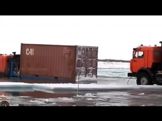 Я бы не поехал самые безумные водители севера russian drivers skill is