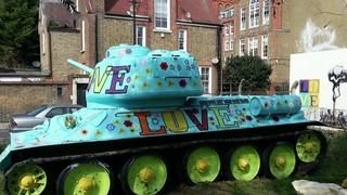 Танк Т-34 получил лондонскую прописку истал городской достопримечательностью. Новости. Первый канал