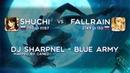 Osu Shuchi vs Fall Rain DJ Sharpnel BLUE ARMY mapped by caned