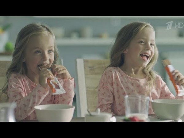 Реклама Киндер Молочный Ломтик 2018 Ёжики и котята