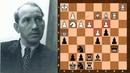Stunningly Beautiful Double Exchange Sacrifice Liliental vs Ragozin Moscow 1935