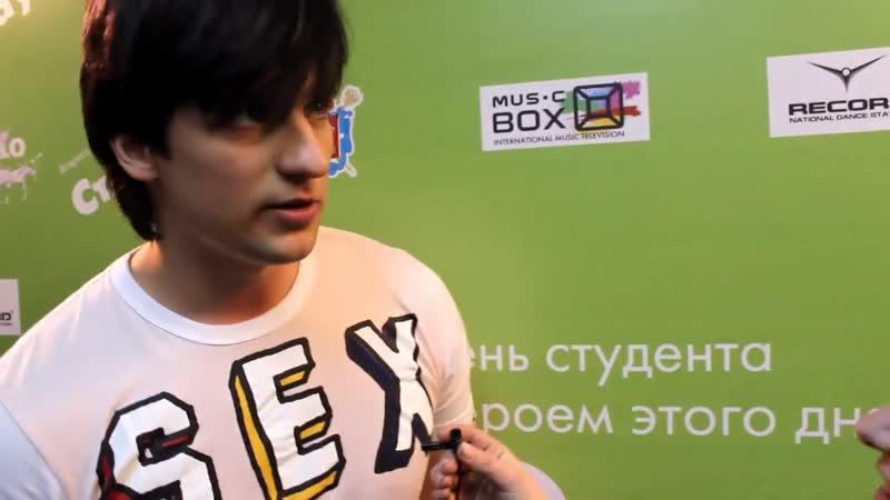 Дмитрий Колдун на Дне студента в Санкт-Петербурге (25.01.2012)