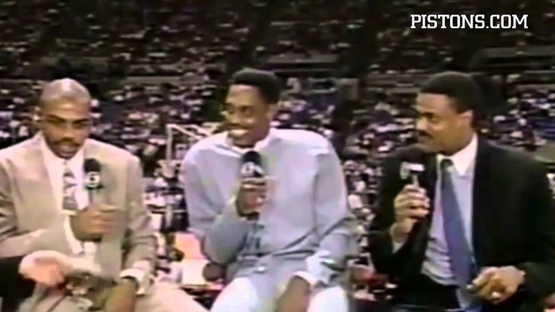 Detroit Pistons | Unforgettable Moments: Laimbeer vs. Barkley