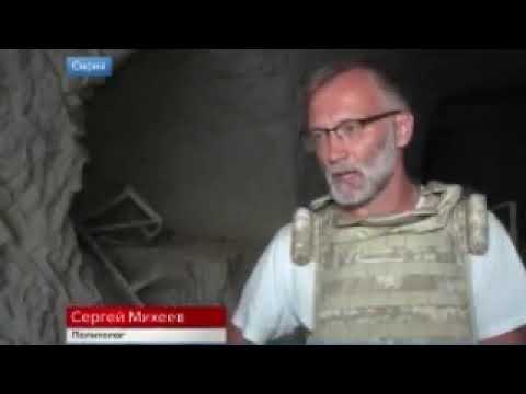 Сергей Михеев в Сирии. Катакомбы боевиков в районе Хан-Шейхун