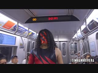 Subway Mania - Triple H vs Kane vs Stone Cold Steve Austin