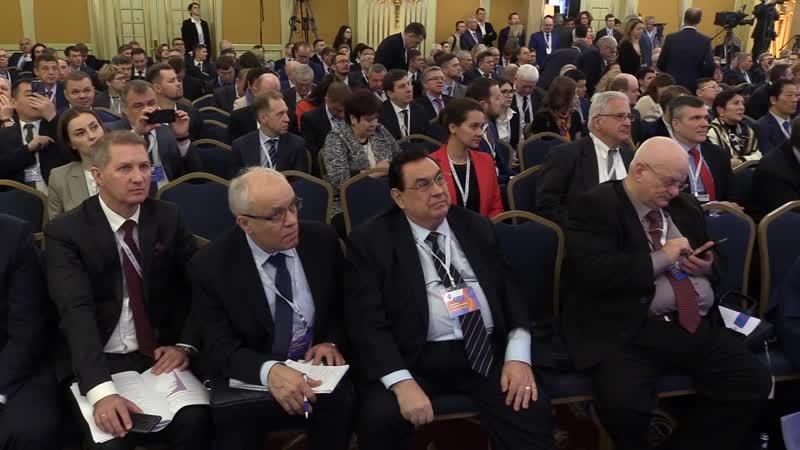 Съезд РСПП (российский союз промышленников и предпринимателей)