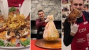طبخ اللحم بغشاء المعدة من الشيف بوراك / delicious food by chef burke