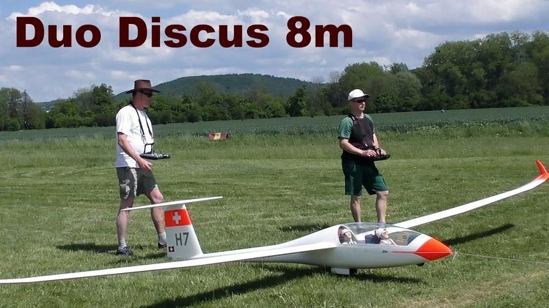 Duo Discus, giant scale RC sailplane, 2019