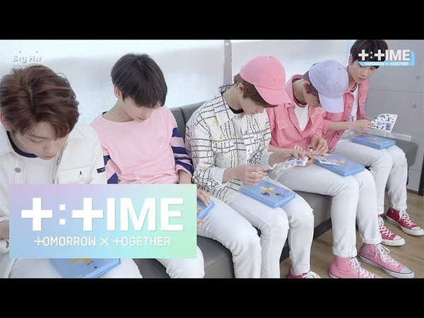 T TIME If I were you How to decorate album sleeve TXT 투모로우바이투게더