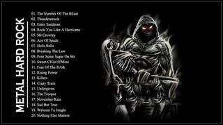 AC/DC ,Iron Maiden, Metallica ,Helloween ,Black Sabbath - Hard Rock Ballads 80s 90s Playlist