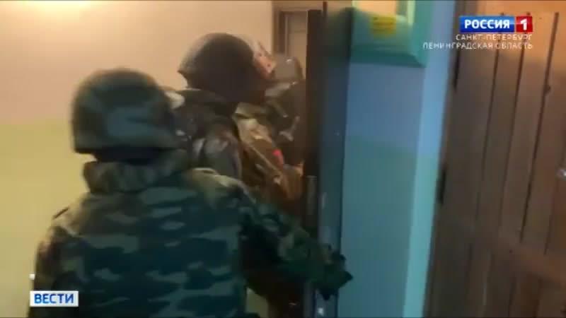 ТК Россия 1 при содействии СОБР задержан гражданин подозреваемый в содействии