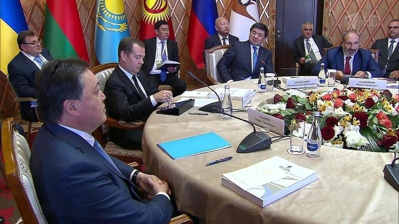 ВКиргизии открылось заседание Евразийского межправительственного совета. Новости. Первый канал