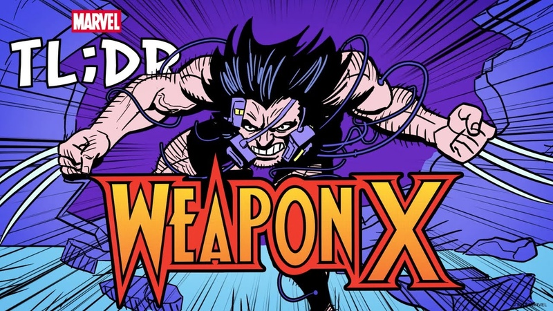 Weapon X in 3 Minutes Marvel TL DR