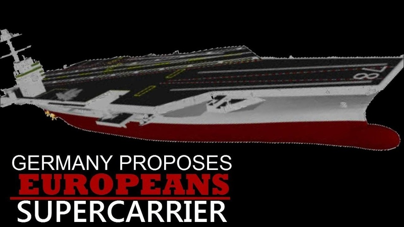 After Fighter Jets; Will the France and Germany to Make a new supercarrier Together