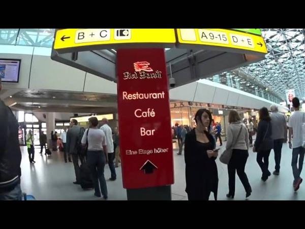 Berlin Tegel Airport how to go to Berlin cityベルリン空港からベルリン市内までの行き方