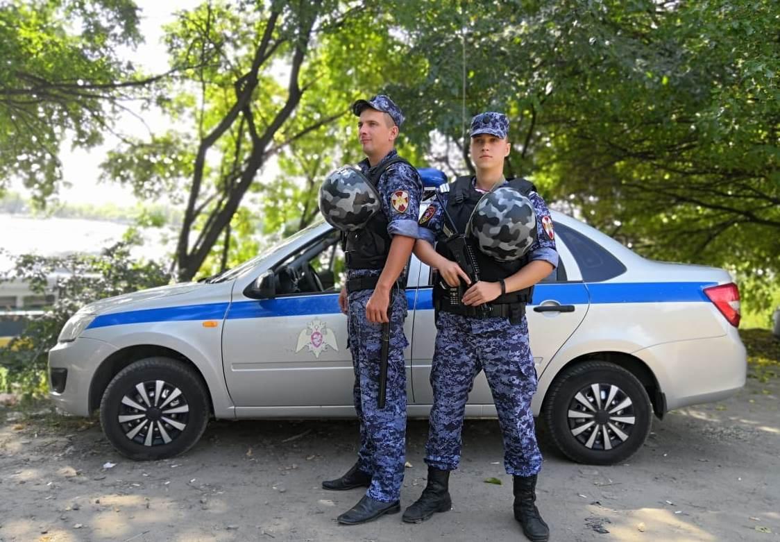 Росгвардейцы задержали нарушителей общественного порядка на охраняемых объектах