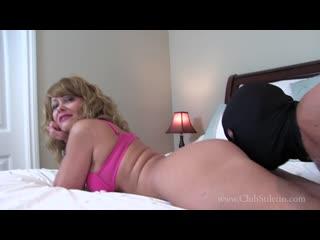 Mistress kandy a big nasty load in my ass femdom