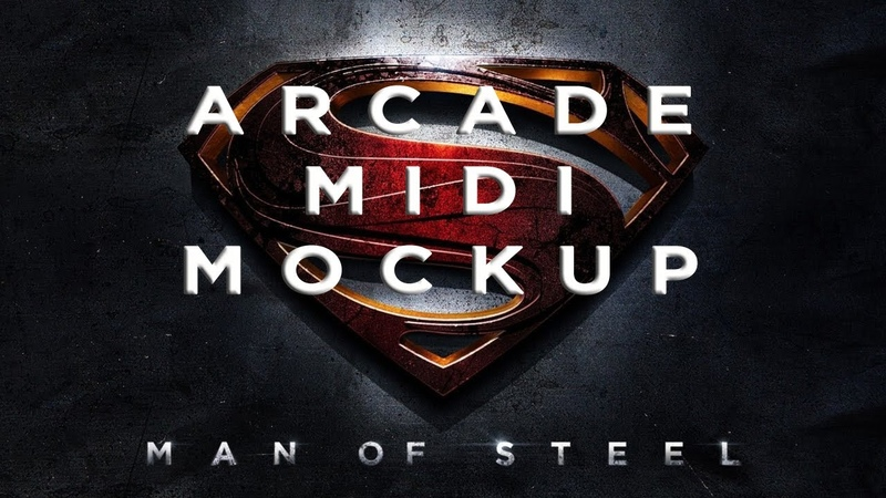 Man of Steel - Arcade (Midi Mock Up) Two Hour Challenge