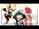 👿БЛАГИЕ НАМЕРЕНИЯ👼комикс★Моя Геройская Академия ★ MHA My Hero Academia comics dub