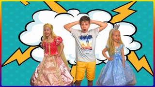 Алиса Даня и Сестра Близнец? | Alice Pretend Play Dress Up with Toys |Funny Video for kids family