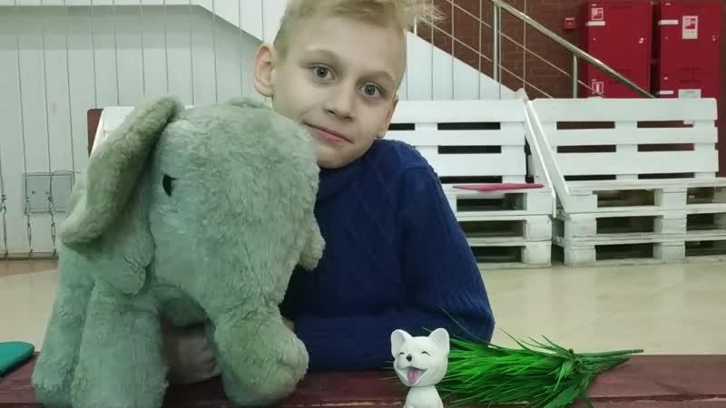 И.А. Крылов Слон и Моська. Исполняет Вадим Калиничев