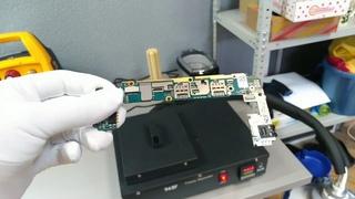 Необычный способ ремонт телефонов