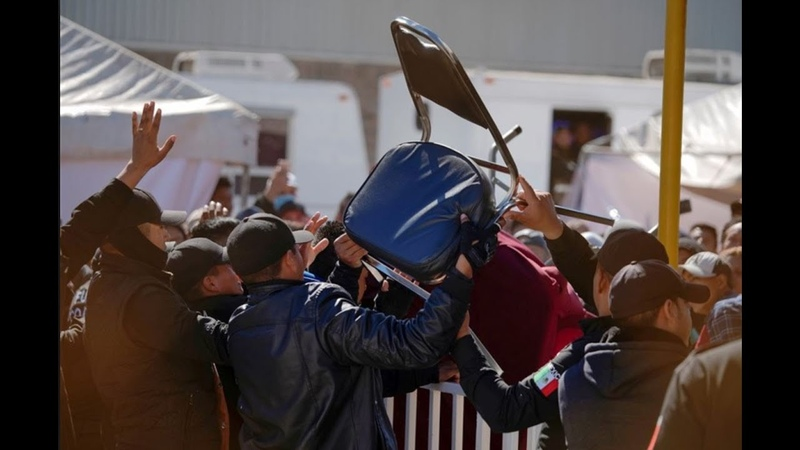 Migrants Attack Police in Piedras Negras as Mexican Consul Cheers Facilitating Illegal Immigration