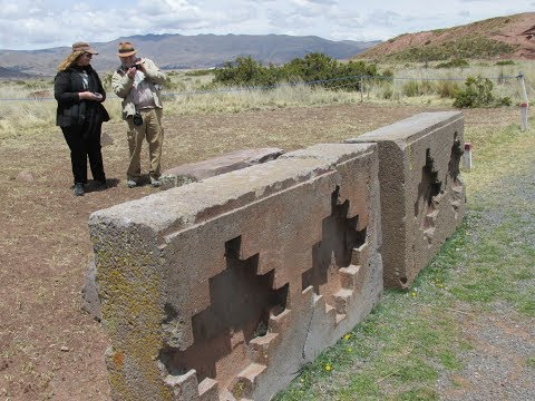 Megaliths And Magnetic Anomalies At Tiwanaku In Bolivia