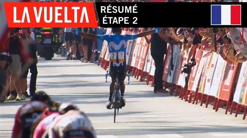 Résumé - Étape 2 | La Vuelta 19