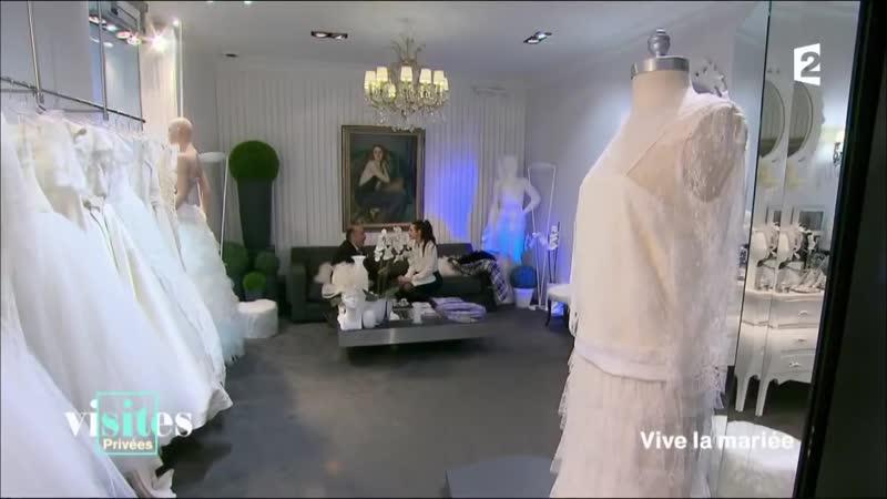 La robe de mariée Visites privées