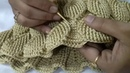 Crochet embossed leaves stitch bag part 7