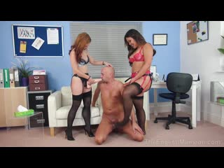 Husband therapy(femdom, humiliation, pegging, strapon blowjob, cock slapping, chastity tease, strapon anal ,spitroasting)