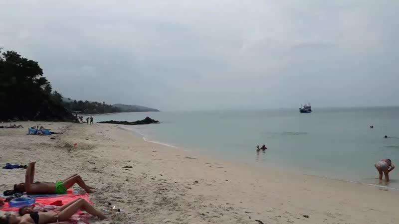 Пляж Бан Тай Самуи Таиланд 1 02 2019