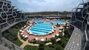 Отель Bosphorus - Вид из номера на бассейн видеофон