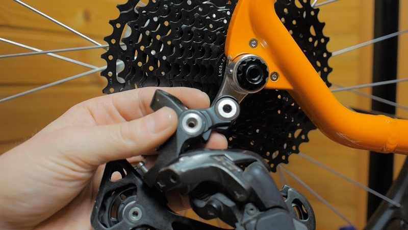 Установка трансмиссии 1х11 Shimano XT SunRace Prowheel на фэтбайк для бати