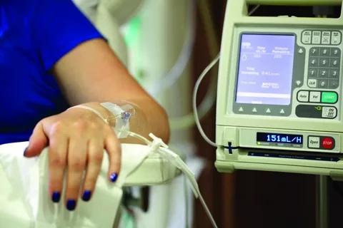 Химиотерапия является типичным лечением рака крови.