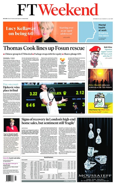Financial Times Weekend UK - July 1314  2019 UserUpload