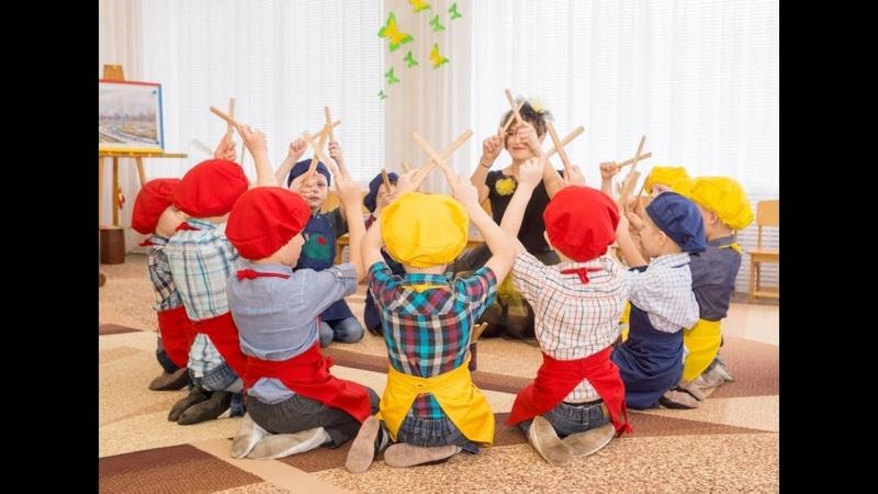 Орф-педагогіка. Елементарне музикування на клавесах Конячки - дітки 5-6 років