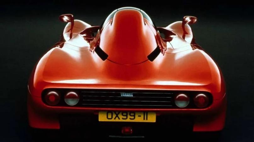 Первый спорткар сделанный Yamaha