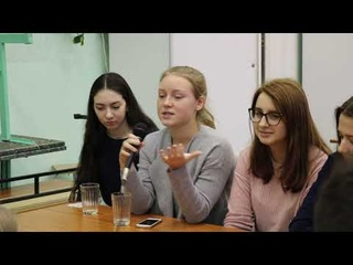 Молодежные дебаты с МАГУ в 7 школе г. Кировска