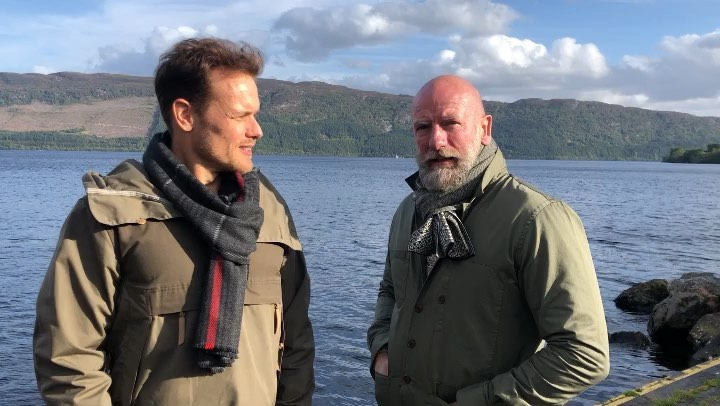 "Clan Lands Show on Instagram: ""Join us in @clanlands very soon....! where are we @samheughan @grahammctavish"""