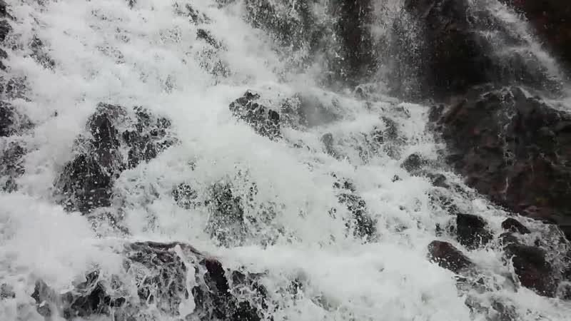 Водопад на р. Териберке - 1