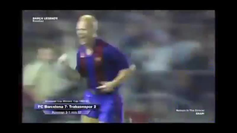 Throwback to when Ronald Koeman assisted himself vs Trabzonspor