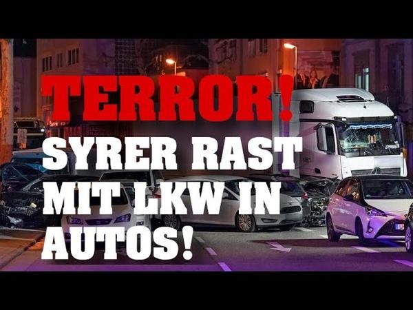 TERRORANSCHLAG in LIMBURG SYRER entführt LKW und rast in Autos Viele Verletzte