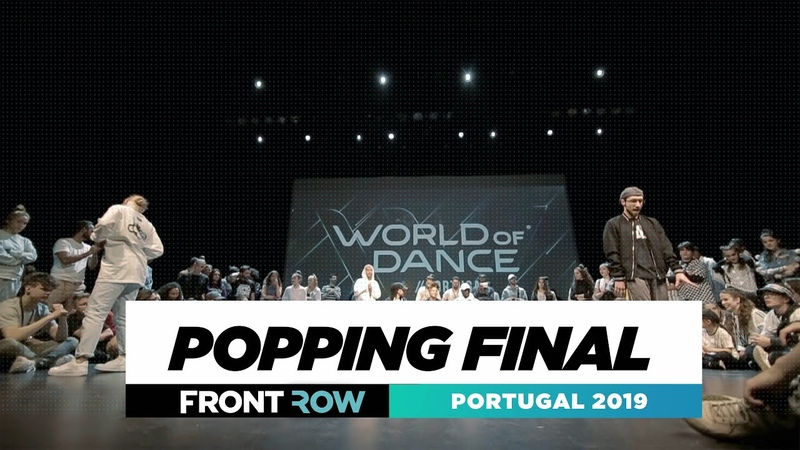POPPING FINAL   FRONTROW   World of Dance Portugal 2019   WODPOR19