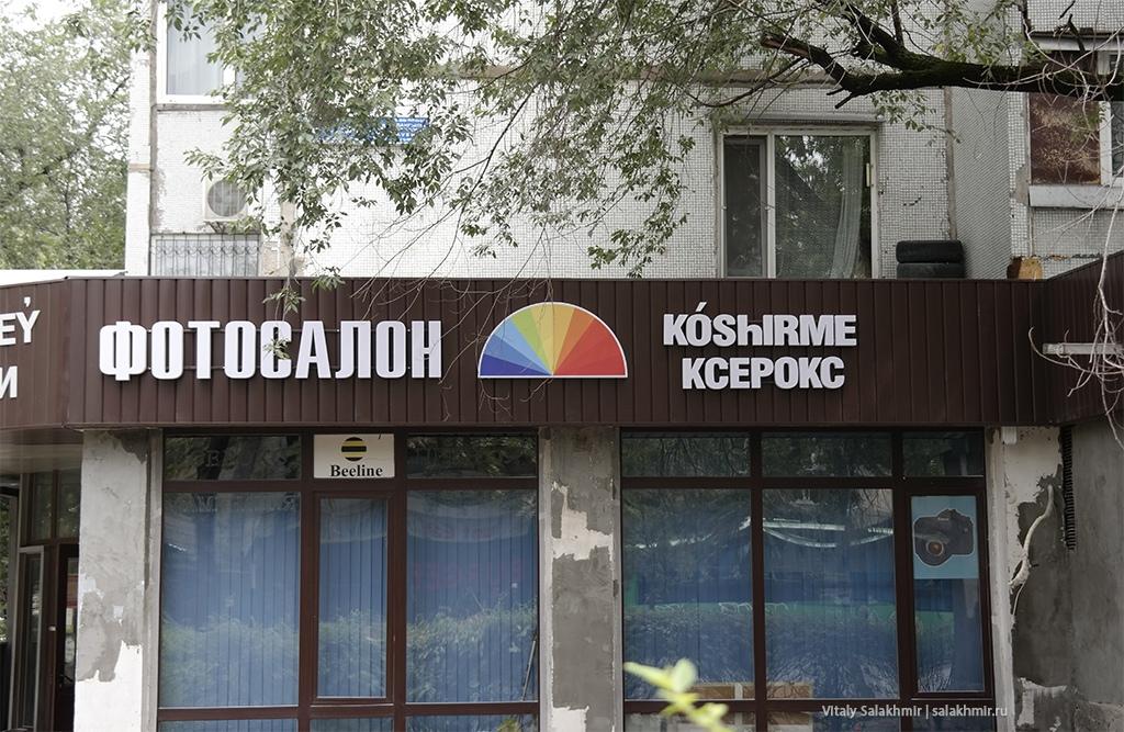 Слово Ксерокс на казахском, проспект Достык 2019